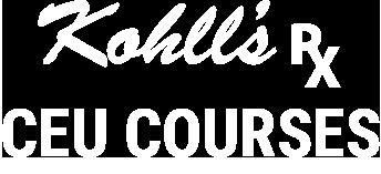 Kohll's Rx CEU Courses